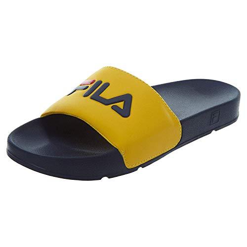 Fila Men's Drifter Sport Sandal, Yellow, Size 13.0