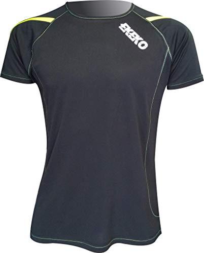 Ekko T Race T-shirt met korte mouwen voor heren, hardlopen, atletiek en algemene sporten.