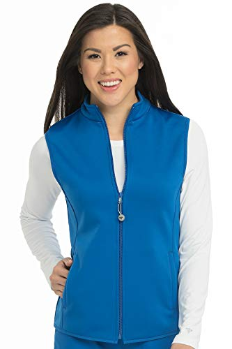 (Med Couture Performance Fleece Vest for Women, Royal, XXX-Large)