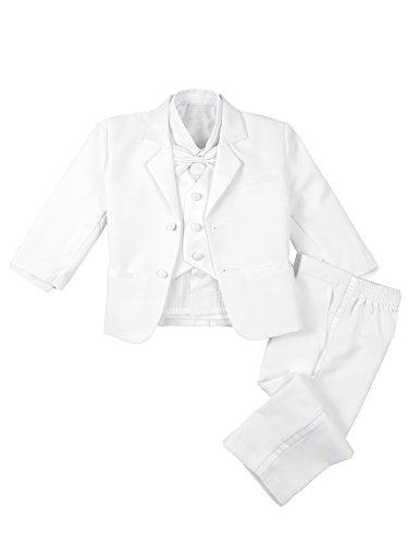 68627d5b1 Dressy Daisy Baby Boy  5 Pcs Set Formal Tuxedo Suits No Tail ...