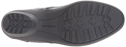 Rockport Cobb Hill Women's Cobb Hill Rayna Wide Calf Rain Boot, Black, 9 W US by Rockport (Image #3)