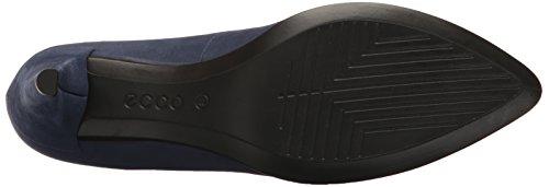 Blue Sleek con Shape Scarpe Pointy Donna Blu ECCO Iris Tacco 45 zpwT66x