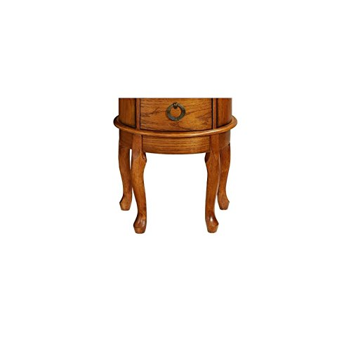 Powell Burnished Oak Jewelry Armoire by Powell (Image #7)