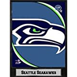 Encore Select 511-28 NFL Seattle Seahawks Deluxe Frame Logo Plaque with Team Photo, 9-Inch by 12-Inch
