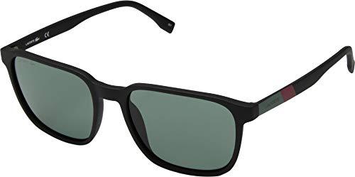Lacoste Men's L873s Plastic Square Color Block Sunglasses