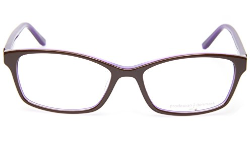 NEW PRODESIGN DENMARK 1733 c.5032 BROWN EYEGLASSES FRAME 51-15-135 B31mm - Glasses Prodesign