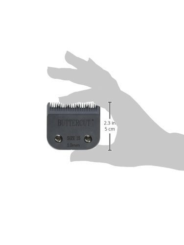 Geib Buttercut Stainless Steel Dog Clipper Blade, Size-15, 3/64-Inch Cut Length