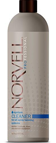 Norvell System HVLP Gun & Airbrush Cleaner for All Spray Tanning Systems, 16 (Airbrush Tanning System)