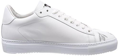 Delle Argento Tennis Bianco Argento Donne bianco Da Multicolore Stokton Scarpa Formatori 1C7qn1wr