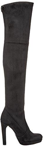 London Stivali 01 Donna Micro black Strech 2863 Buffalo Nero dnxq1Fw
