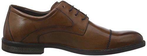 camel active Braga 11 - zapatos con cordones de cuero hombre marrón - Braun (lt.brandy)
