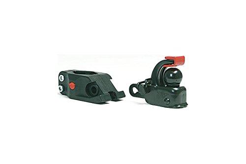 31FH03SU 6L Hebie Unisex– Erwachsene Anhängerkupplung-2067006000 Anhängerkupplung Set, schwarz, One Size