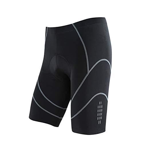 Lanlana Triathlon Men's Cycling Bike Shorts 1/2 Leisure Trousers 3D Pad Lining Underwear,5034,M