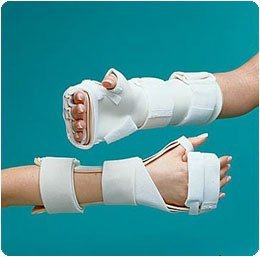 Rolyan Arthritis Mitt Splint. Rolyan Arthritis Mitt Splint, Right, size: XS - Model A3092 by Rolyan
