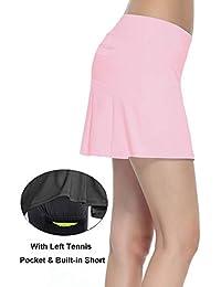 Women's Workout Active Skorts Sports Tennis Golf Skirt...