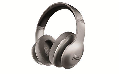 JBL Everest 700 Wireless Bluetooth Around-Ear Headphones , Titanium (Certified Refurbished) by JBL