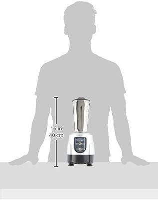 Omega BL360 1-HP licuadora, 900 ml recipiente de acero inoxidable ...