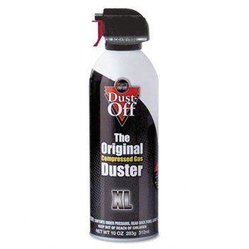 Dust Off DPSXL 10 Oz Dust-Off Compressed Gas Duster