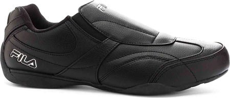 Fila Men's Motion Slip On Driving Shoes,Black,10.5 M