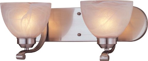 Minka Lavery 5422-84 Paradox 2 Light Bath Bar, Brushed Nickel Finish
