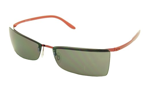 (Silhouette Titinium SPX Sunglasses Limited SPECIAL EDITION 8596 (8596-6128 shiny red/smoke lens, one size))