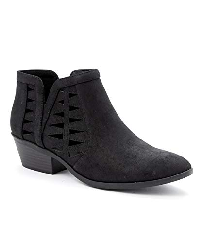 soda black ankle boots - 1