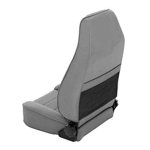 Smittybilt 45011 Denim Gray Factory Style Replacement Front Seat