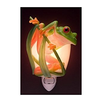 - Ibis & Orchid Tree Frog Night Light #50071