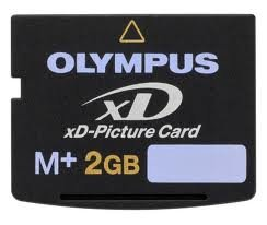 Olympus C-5060 Digital Camera Memory Card 2GB xD-Picture Card (M+ Type)