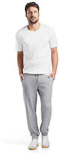 HANRO Men's Living Short Sleeve Shirt, White, Medium ()