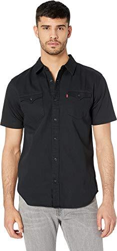 Levi's¿ Men's Nevin Short Sleeve Denim Shirt Onyx Black X-Large