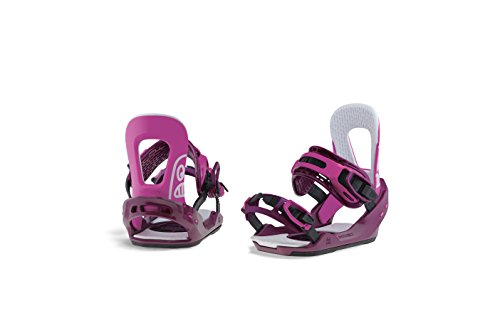 Switchback Feeler Snowboard Bindings, Small, Pink by Switchback