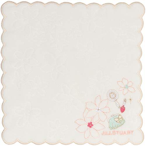 [랑방 온 블루] 프린트 손수건 레이디스 09208022B 옐로우 일본 20cm×20cm (FREE 사이즈)