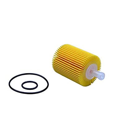 FLYPIG New Pack of 5 04152-YZZA5 Engine Oil Filter Element w/Gasket Seal O-ring Set For Toyota - 4Runner Oil Filter 1/2 Case IS250 IS350 AWD LS460 LS600H IS300: Automotive