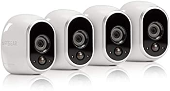 4-Pack Netgear Arlo Smart Wire-Free HD Security Cameras