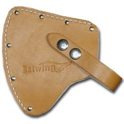 Estwing Sportsman's Axe - 12'' Camping Hatchet with Forged Steel Construction & Genuine Leather Grip - E14A
