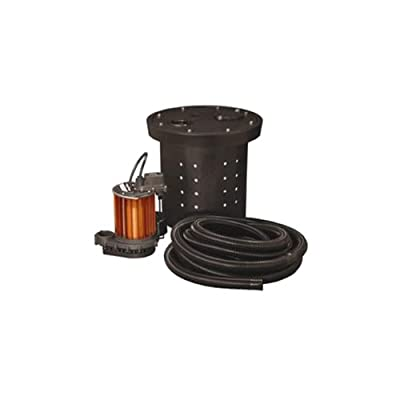 Liberty Pumps CSP-457 1/2-Horse Power 1-1/2-Inch Discharge 450-Series Crawl Space Sump Pump Kit
