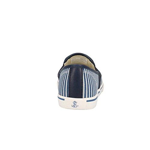 001 802 689114 Blanc Bleu Lauren Janis Baskets Ralph w1F7BxqT