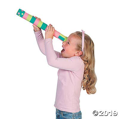 Do It Yourself Paper Mache Telescopes - Crafts for Kids and Fun Home Activities: Toys & Games