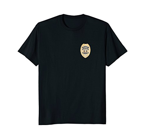 Security Officer Enforcement Badge T-Shirt Police - Guard Badge Security