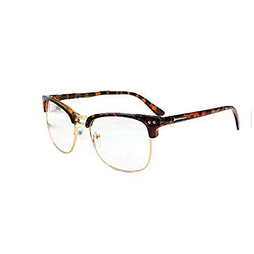 Clear Glasses Frames Lens Frame Spectacle Oversized Men Retro Metal ...