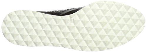 00291 Romy Donna Stringate Shoes Marc Brouge Scarpe Nero Black 8qAnBv