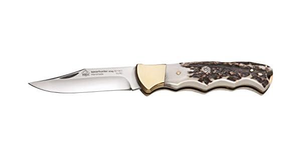 Amazon.com: Puma IP Spear de ciervo Hunter carpeta cuchillo ...