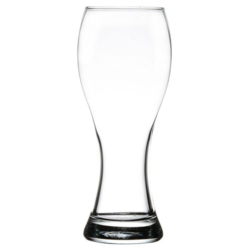 Clear Libbey Giant Beer Glass with 23 oz Capacity - Set of 4 - Additional Vibrant Colors Available by TableTop King