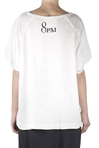 T Couleur Femme Primavera D8pm91h97 shirt estate Mansfi 2019 8pm Lait qdPpxwUSFq