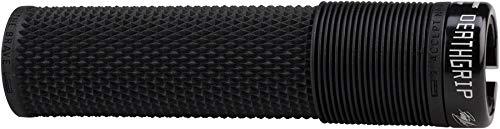 Krayton Rubber - DMR Brendog Death Grip: Flangeless, Lock-On, Thick, Black