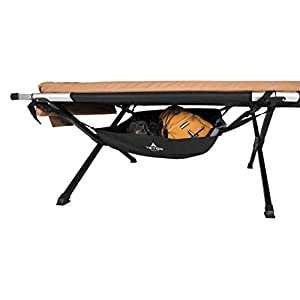 TETON Sports Under Cot Storage; Perfect Companion to the TETON Sports Camping Cots; A Must Have for Camping Cot Users…