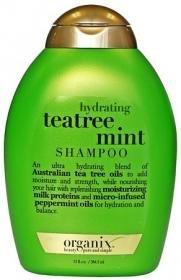 Organix Hydrating Teatree Shampoo, Mint, 13 Ounce