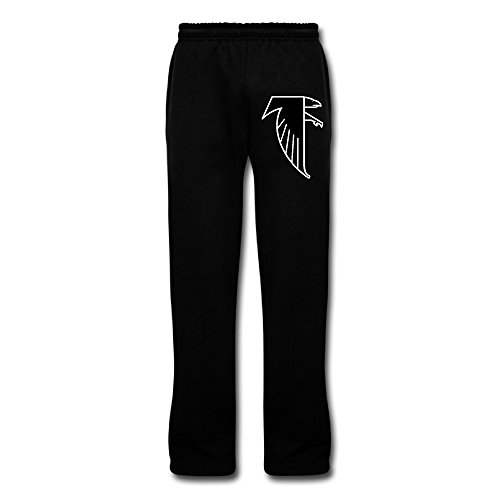 Pgxln Mens Atlanta Freddie Falcon Workout Pants Color Black Size M