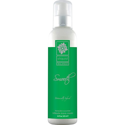 Balance Smooth Body Shave Cream Honeydew Cucumber 8.5oz by Sliquid
